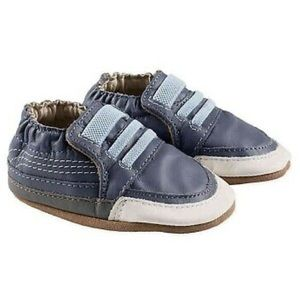 New! Robeez Finley Blue Sneakers